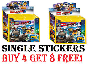 The-LEGO-Movie-2-Stickers-CHOOSE-The-Stickers-You-Need-Buy-4-Get-8-Free