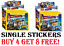 The-LEGO-Movie-2-Stickers-CHOOSE-The-Stickers-You-Need-Buy-4-Get-8-Free miniature 1