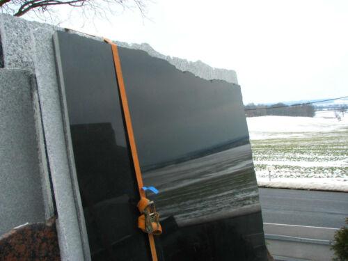 Sockel Pokal Pokalsockel Naturstein schwarzer Granit Steinplatte   auch nach Maß