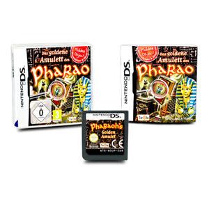 Nintendo-Jeu-DS-la-Dore-Amulette-de-Pharaon-Emballage-D-039-Origine-avec-Manuel