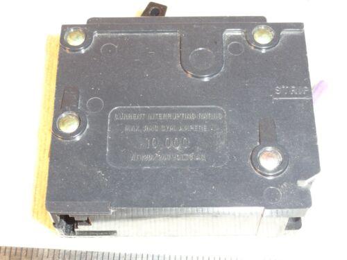 CUTLER HAMMER C120 BR120 1-POLE 20A 120//240V HACR Type CIRCUIT BREAKER E-7819-T