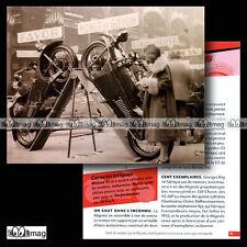 #CMP.011 MAJESTIC (GEORGES ROY) 1929 Fiche Moto
