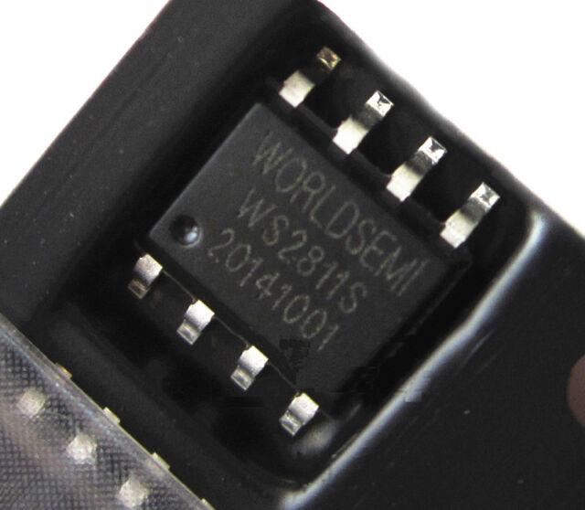 20Pcs WS2811S WS2811 SOP-8 WORLDSEMI CHIP IC NEW
