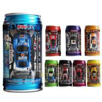 1:63 Mini Coke Can Speed RC Radio Remote Control Micro Racing Car Toy Gift New
