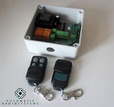 Kit émetteur récepteur commande sans fil volet roulant porte garage TRIK-MASTER