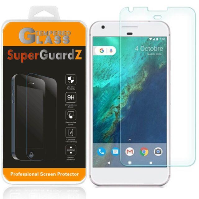 2X SuperGuardZ® Tempered Glass Screen Protector Guard Shield For Google Pixel XL
