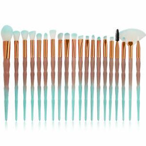 20-Piezas-Unicornio-Maquillaje-Conjunto-de-Pinceles-Herramientas-de-Maquillaje-de-Base-Sombra-de