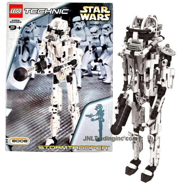 NEW 2001 LEGO Technic Star Wars Set  8008 STORMTROOPER Action Figure 361Pcs.