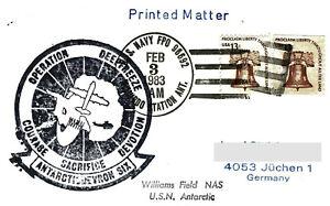 6 x Polarpost USA 1983 I