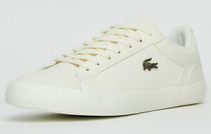 BNIB MENS Lacoste OFF WHITE LEATHER