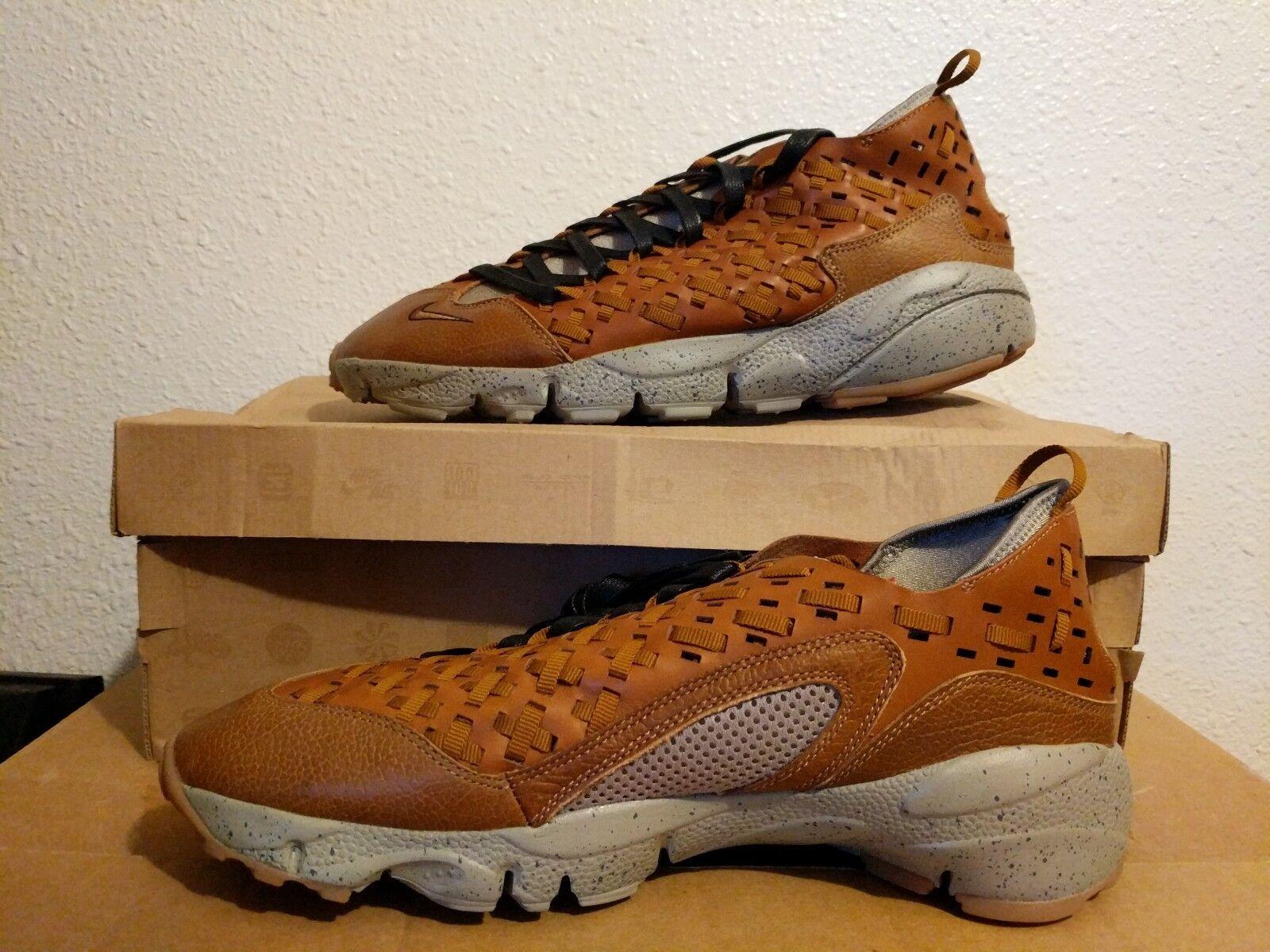 Nike Air FOOTSCAPE MOTION WOVEN TZ BODEGA HAZLENUT GRIT BLACK SZ10  386130-200