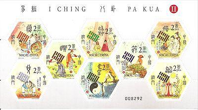 Collections, Lots 8 Stamps- Macao-china-2002-i Ching Pa Kua-ii-mini Sheet