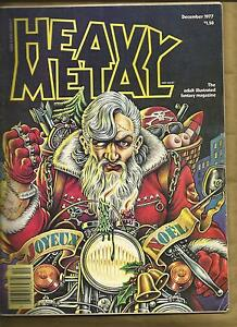 Heavy-Metal-Magazine-9-Dec-1977-vg-Corben-Chaykin-Moebius-scarce-US-Mag