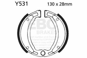 Ajuste Yamaha YB-1 (50cc) (5JE1/3) 01 >     02 EBC Delantero Zapatas de frenos