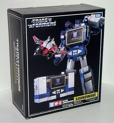 "Takara Tomy MP-13 Soundwave with Laser beak, Original From Japan ""NEW"" ."