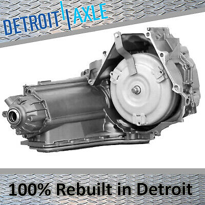 CALL US OR SEND A EMAIL WITH YOUR VIN FOR PROPER TRANS FITMENT Rebuilt Automatic Transmission 4-Speed 4R75E Detroit Axle