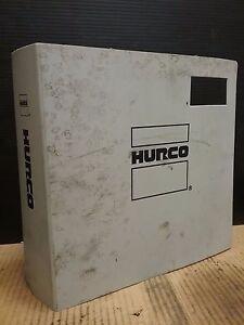 hurco hawk 5 operators manual rev f ultimax 3 704 0001 713 ebay rh ebay com Hurco Ultimax VM2 Manual Hurco Programming Manual