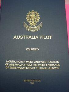 Australia-Pilot-volume-5-North-Northwest-coast-039-s-7th-Edition-1992