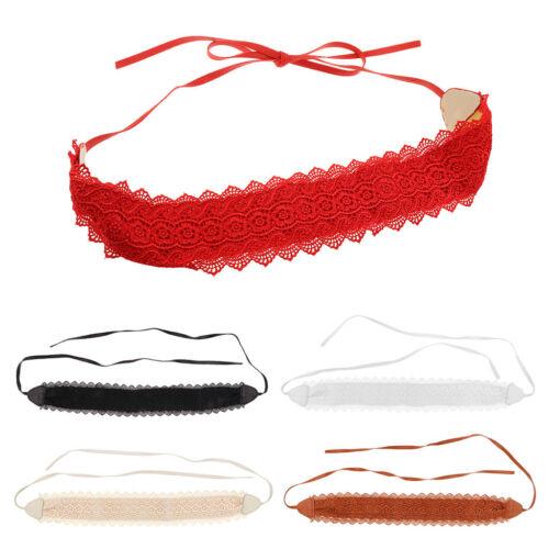 Womens Lace Up breiten Bindebund Kunstleder Wrap Around Lace Gürtel