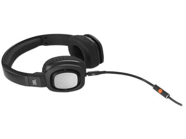 JBL J55i On-Ear Headphones with Mic-Black