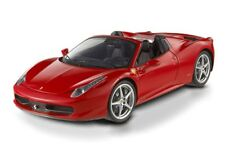 MATTEL ELITE W1177 FERRARI 458 ITALIA SPIDER die cast model car 2011 red 1:18th