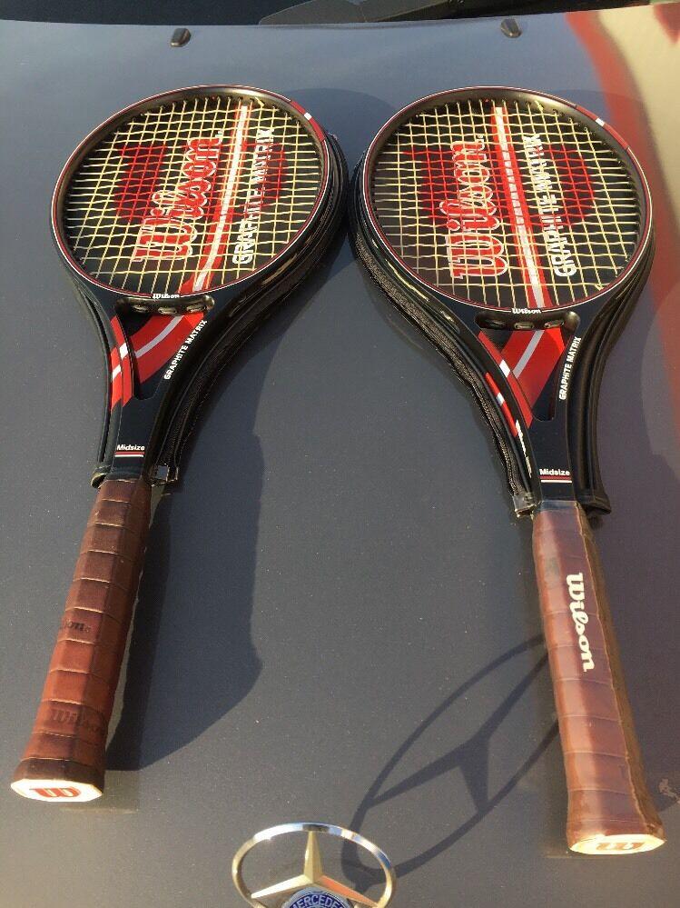 Matriz de grafito Wilson Tenis Raqueta   99.99  cómodo