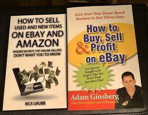 2 Books How To Sell On Ebay Amazon How To Buy Sell Profit On Ebay Ebay