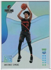 2018-19-Panini-Status-Basketball-Anfernee-Simons-Rookie-Card-140-Rip-City