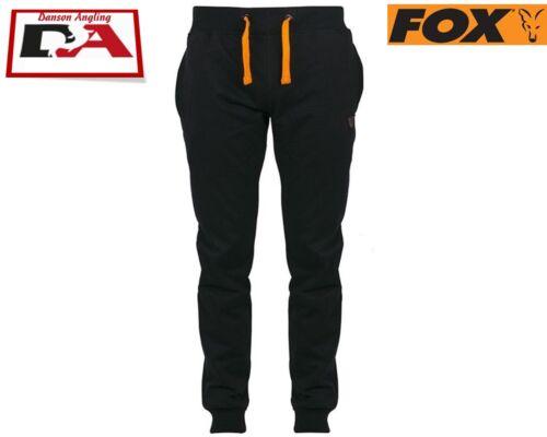Fox Lightweight Black and Orange Joggers *NEW*