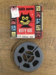 Vintage Atlas Kiddie Movie Kitty Kat Jungle Pet