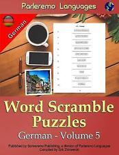 Parleremo Languages Word Scramble Puzzles German - Volume 5 by Erik Zidowecki...