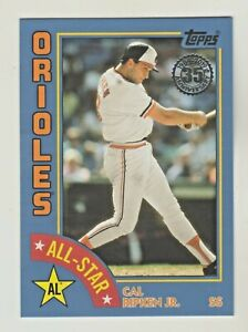 2019-Topps-35th-Anniversary-1984-ALL-STAR-BLUE-Parallel-84AS-CR-CAL-RIPKEN-JR