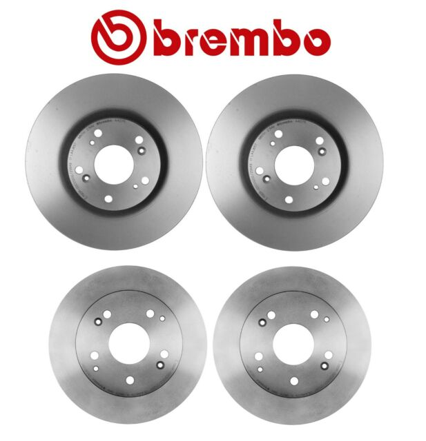 For Acura RSX 02-06 Type S Front+Rear Brake Rotors Brembo