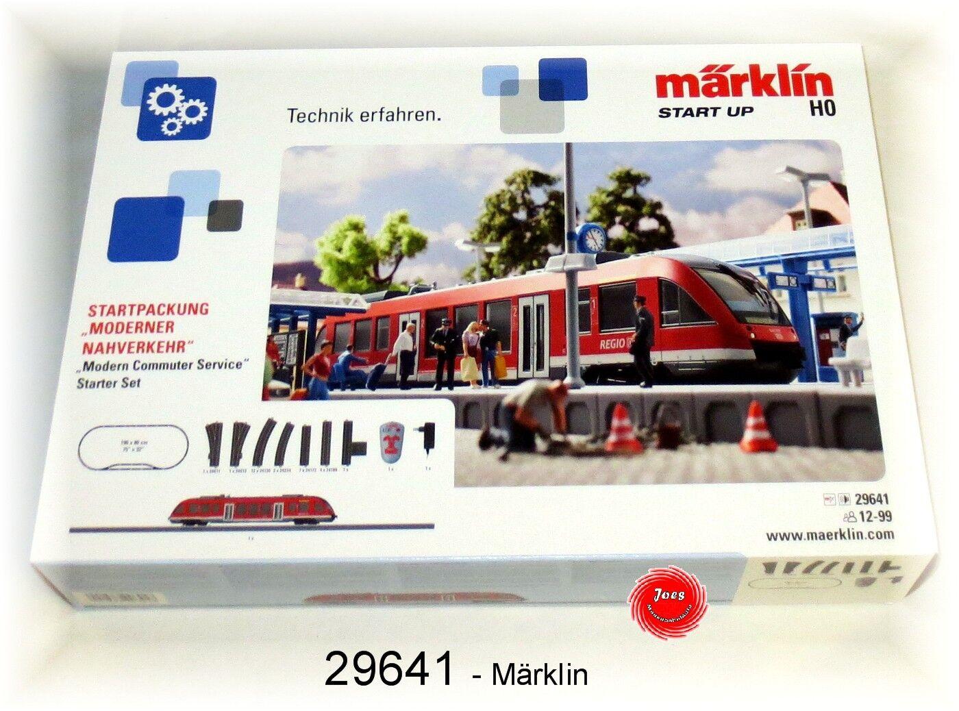 29641 Confezione iniziale  moderna trasporti urbani  con Lint 27  neu in OVP