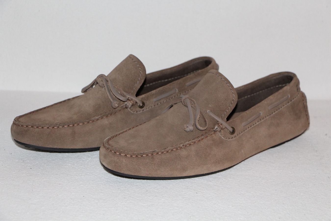 HUGO BOSS MOKASSINS, Mod. Reallio, Gr. EU 43,5    UK 9.5   US 10.5 Medium Beige