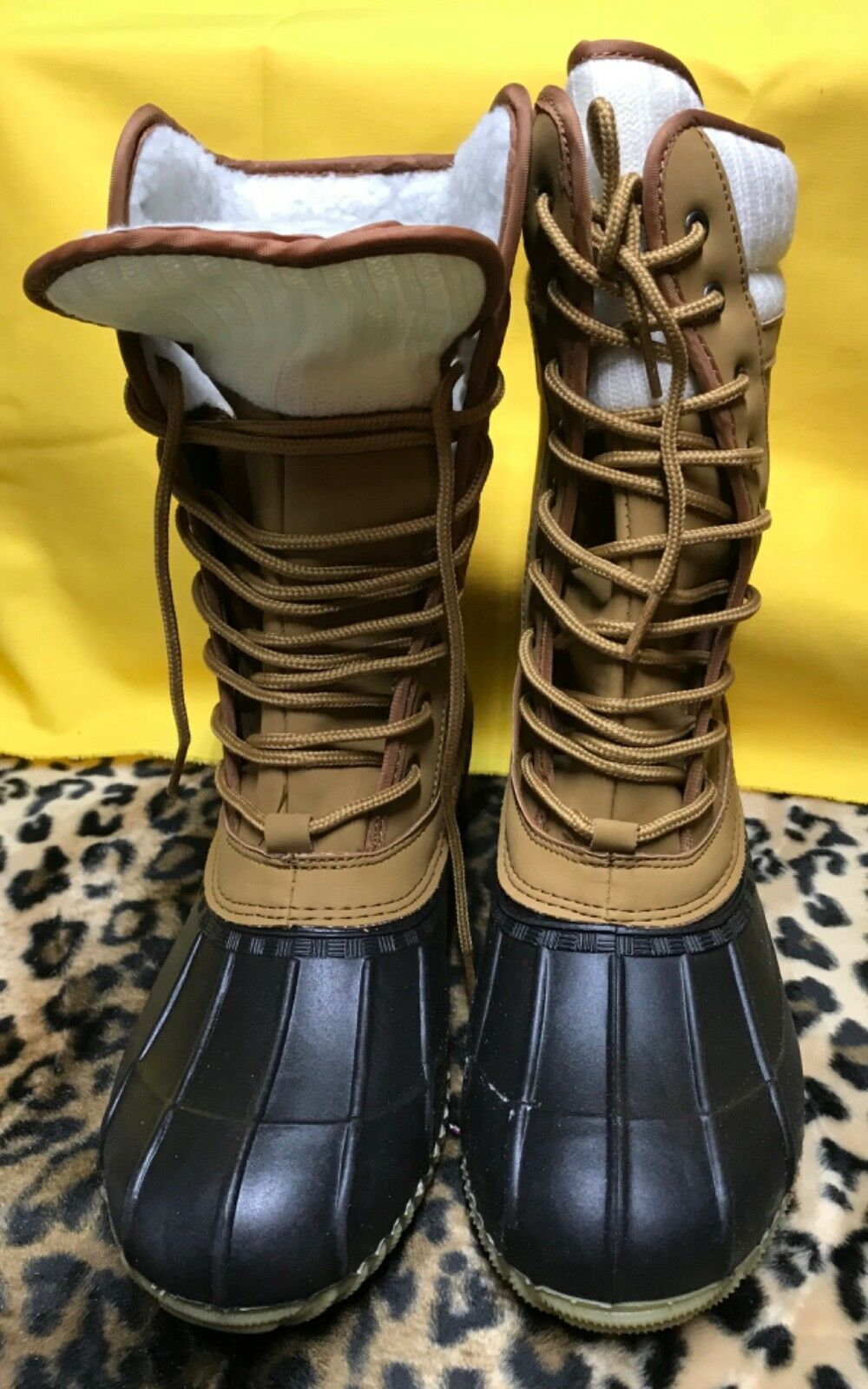 Sociology Damens's Damens's Sociology Swan Weather Stiefel Tan Sz 7 or 9 NEW 30ba21