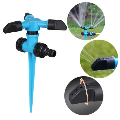 360° Rotating Lawn Sprinkler Automatic Garden Water Sprinklers Lawn Irrigation *
