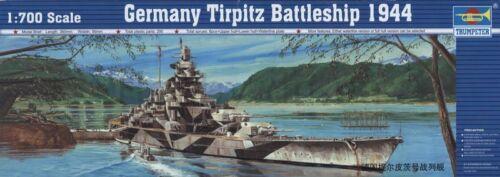 Trumpeter  1//700 German Battleship DKM Tirpit #5712 #05712  *New*