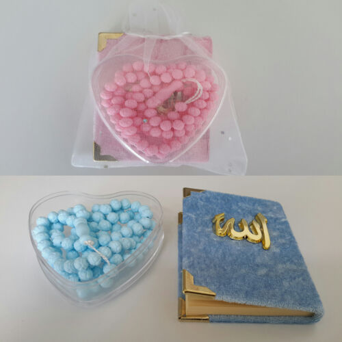 30x Allah Bebek Sekeri Gastgeschenke BABY Yasin Mevlüt Tesbih Gebetskette Kuran