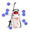 SOLO-457-7-Litre-Pressure-Sprayer-Hand-Held-Garden-45-psi-50cm-Spray-Lance-Dual thumbnail 2