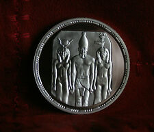 5 Pounds AH1414 1993 Egypt Silver World Coin KM746 Proof Menkaure Triad