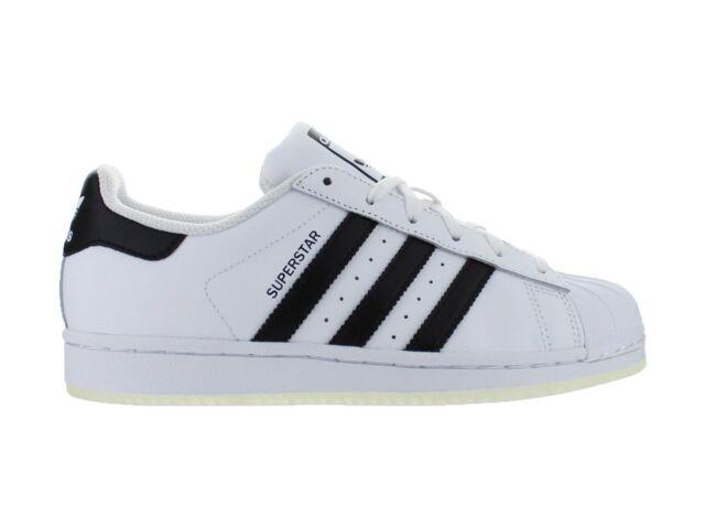 Kids Adidas Superstar J GS White Black Ice B42369