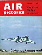 Air Pictorial 1974 June Vulcan,Immelmann,JAT