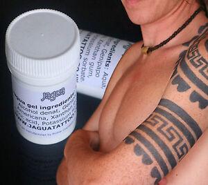 Black Henna Jagua Gel Amazing Temporary Tattoo Gel 25ml Pot Jagua