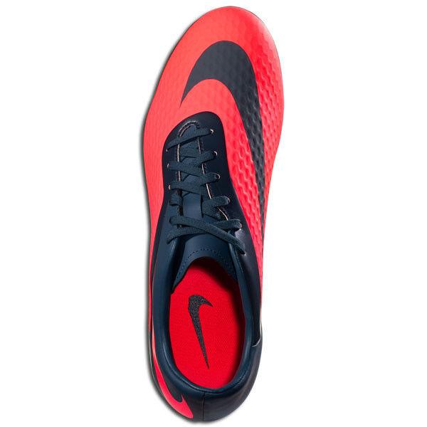 Nike Womens HyperVenom FG  Phelon 2013 Soccer SHOES New New New Red   Charcoal 47b418