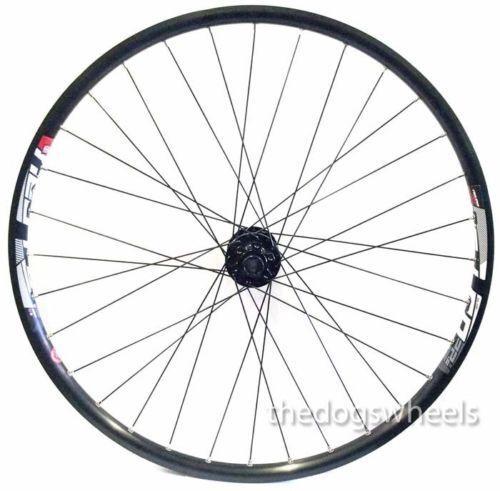 29  Mountain Bike MTB Front Wheel 15mm Bolt Through Disc Brake Sealed Bearings