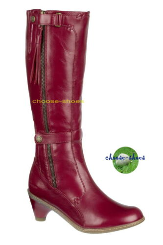 "MARTENS /"" STIEFEL DAMEN /"" JENNA HIGH LEG 11436600 RED DOC DR"
