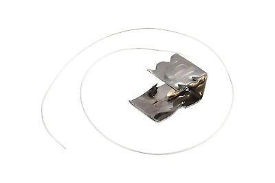 Sturmklammer Für Zugeschnittene Dachziegel Sturmklammer 50 Stück !! Baustoffe & Holz Heimwerker Clear-Cut-Textur