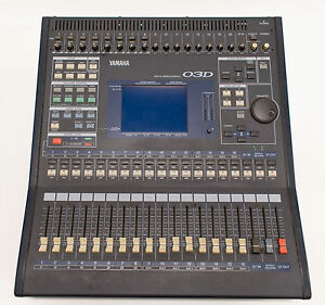 yamaha 03d automated digital mixer mixing console 26 inputs and 18 outputs ebay. Black Bedroom Furniture Sets. Home Design Ideas