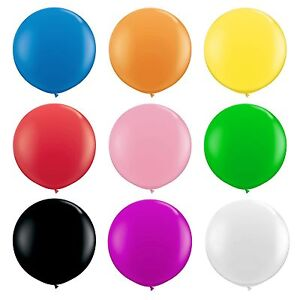 36-034-large-90-cm-geant-ovale-Latex-Grand-Ballon-Fete-de-Mariage-Decoration-Pack-de-12
